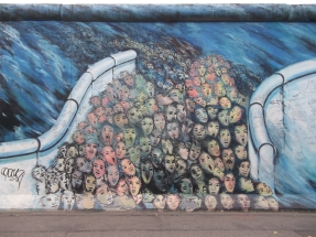 Berlin wall, East Side gallery.