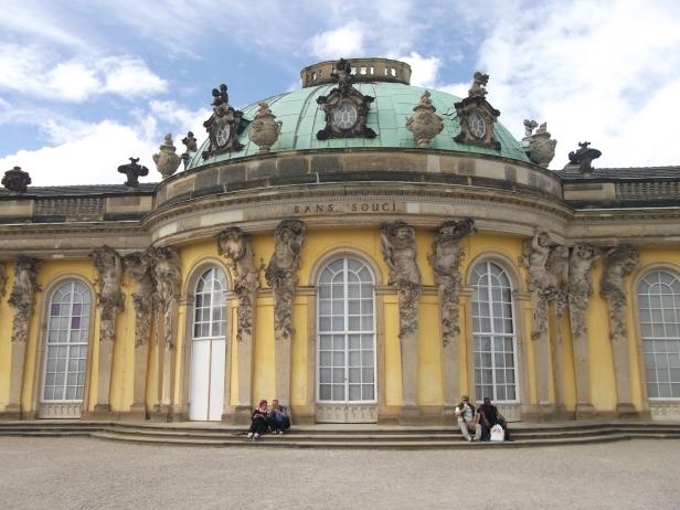 Palais Sanssouci.